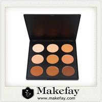 High Quality eyebrow cream makeup palette 9 conceal custom makeup concealer