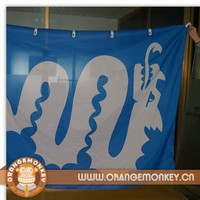 Custom Sublimation Printing Fabric polyester Flags Banner