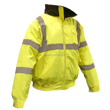 ANSI reflective safety jacket