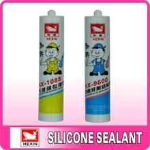 Senior neutral structural silicone sealant for aluminum board and aluminum alloy bonding seal