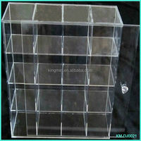 Large cheap acrylic toy display case
