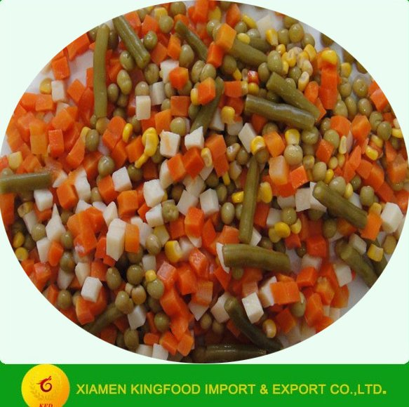mixed vegetables in water wholesale canned food