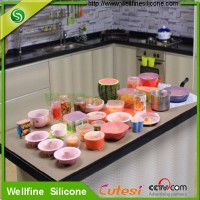 Creative silicone fresh wrap good keeping the food fresh