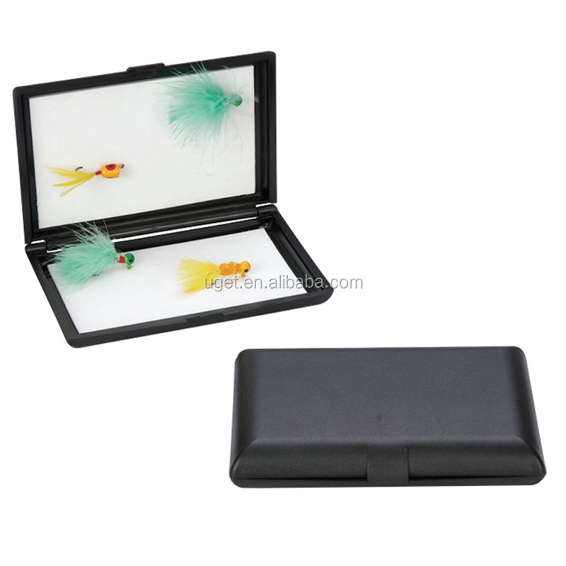 High quality plastic fishing lure tackle fly fishing box