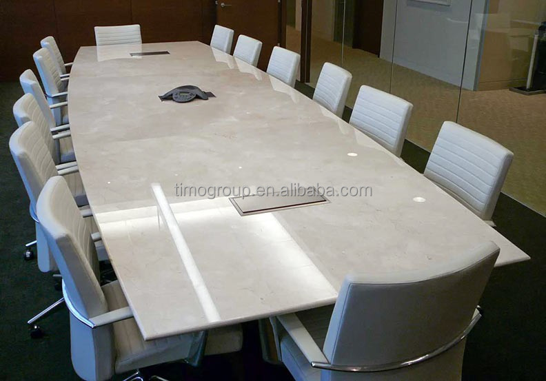 White Glossy Glass Top Conference Table - Buy Glass Top Conference