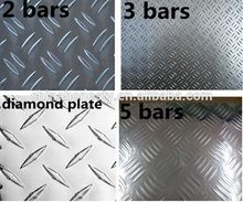 6063 T6 heat insulating aluminium embossed metal sheet/ alloy plate/coil sheet