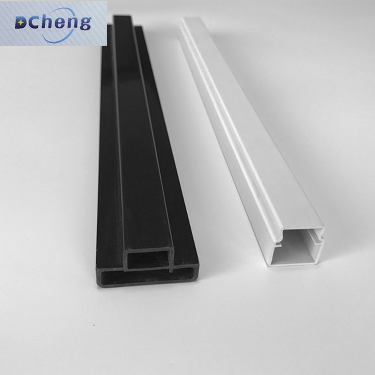 2017 beat sales air insulation pvc profile custom shaped