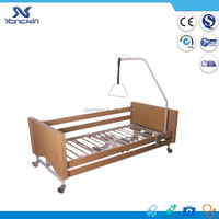 YXZ-C-006 CE approved wooden structure electric bed for nursing home