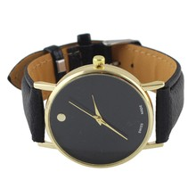 Newest Women's Watch Ladies Dress Wrist Watches Pu Leather Fashion Brand Casual Wristwatch Quartz