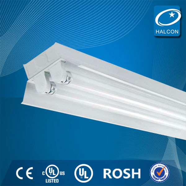 2014 hot ul ce t5 t8 fluorescent lighting fixture t8 hanging led fluorescent tube light fixtures led tube fixture in China