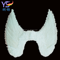 Wholesale White color Angel Feather wing for performance