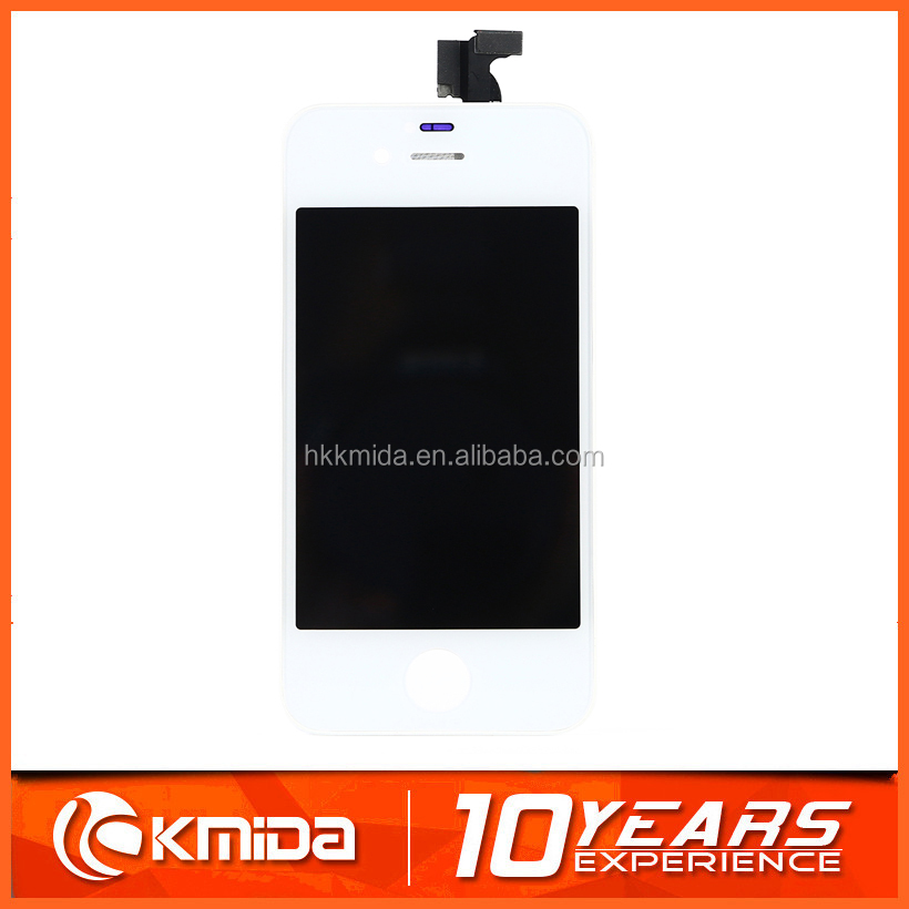 Wholesale mobile phone replacement lcd display touch digitizer screen assembly for iphone 4s screen