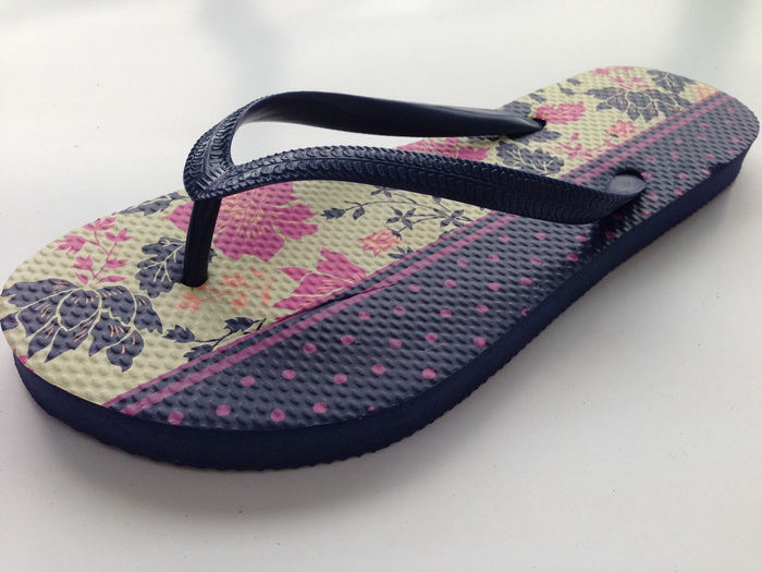 Wholesale Custom printed natural material wedding favors flip flop