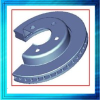 CNC Custom Precision Sand Casting Mountain Brake Disc Rotors