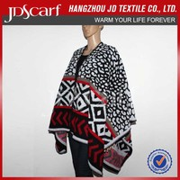 poncho shawls winter very soft Knit Ponchos TBAD-003