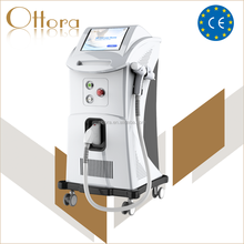 Newest !!! high quality q switched nd yag laser tattoo removal machine / Professional Nd Yag Laser Scar