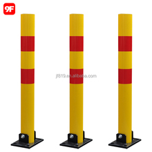 Metal road bollard removable bollard collapsible parking bollard