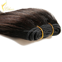 Full cuticle tangle free no shedding 6A 7A human hair weft