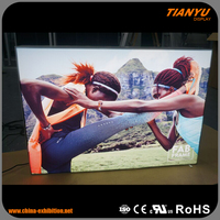 High Brightness Frameless Advertising LED Fabric Light Box Sign