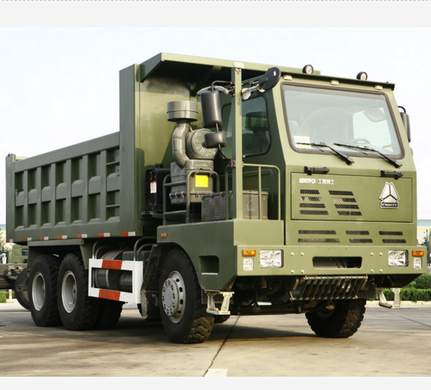 Sinotruk Germany Man Truck Technology Special Vehicles Off-road 6*6 Military Truck