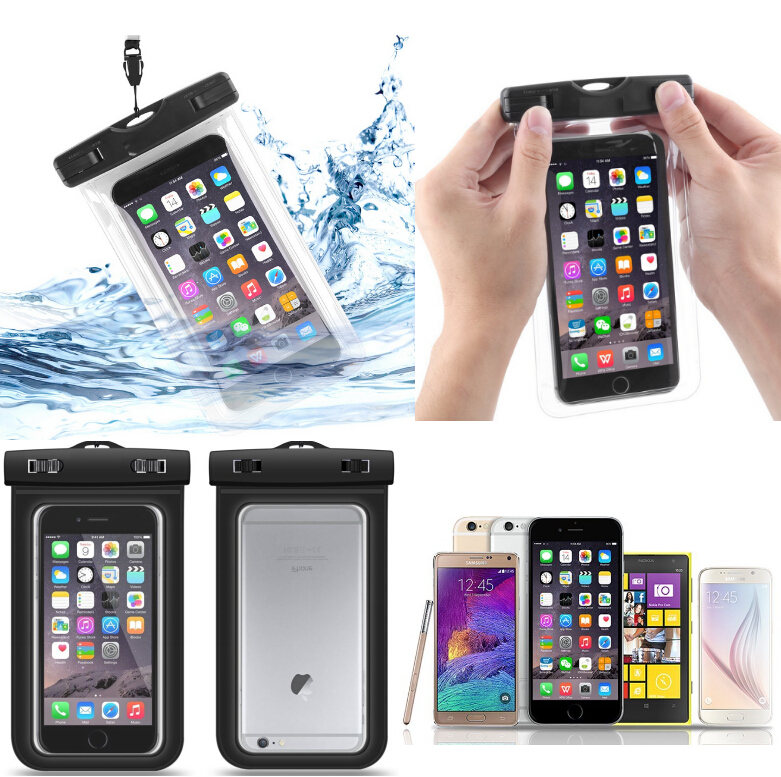 top PVC Universal Customizable Mobile Phone Waterproof Unbreakable Bag Pouch Phone Cover Case For Samsung, cover for iphone