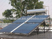 All Glass Horizontal Solar Collector system for Swimming Pool