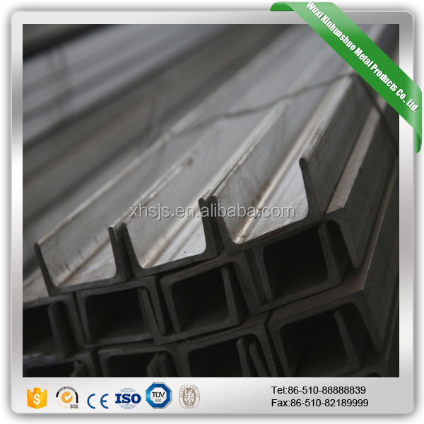 Standard Stainless U Channel Steel Price Per Ton Size