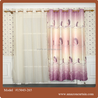Beautiful Arabic solid curtain fabric for living room with beautiful drapes curtain