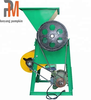 Electric groundnut sheller machine small wildly used peanut shelling threshing machine