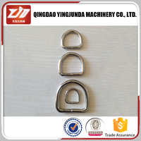 Bag parts and accessories stainless steel d ring wholesale