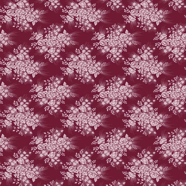 100% polyester Tricot snowflake pattern fabric supplier QF10266