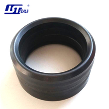 High performance fabric reinforced rubber pump seal rings