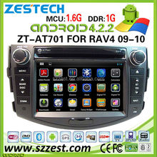 car navigation for toyota rav4 car navigation system with dvd gps 3G Wifi Multi-point touch ZT-AT701