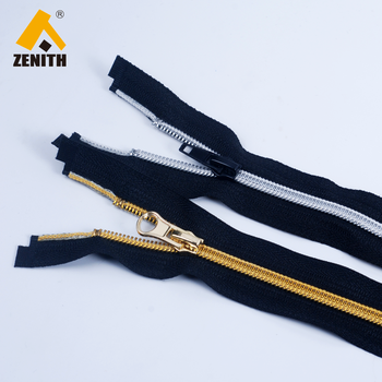 5#Nylon Silver Golden Teeth Nylon Zipper ZN20010