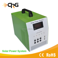 Complete off grid mobile home solar power system 1200w from China