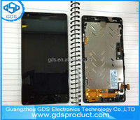 Full LCD Display + Touch Screen with Frame For Huawei Ascend G700