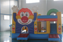 Factory customize PVC inflatable jumping bouncy castle for children amusement