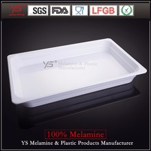 High temperature disinfection imitation ceramics plastic tray food