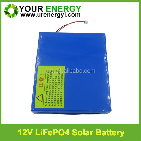 12v 10ah lifepo4 18650/26650 good discharge performacne deep cycle rechargeable battery for led light
