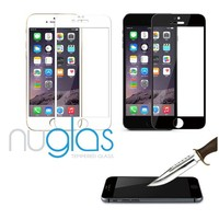 Automatic attach tempered glass screen protector for iPhone 6 full coverage