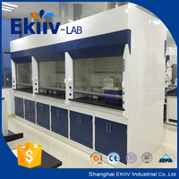 used chemical laboratory furniture fume hood with 400W centrifugal fan
