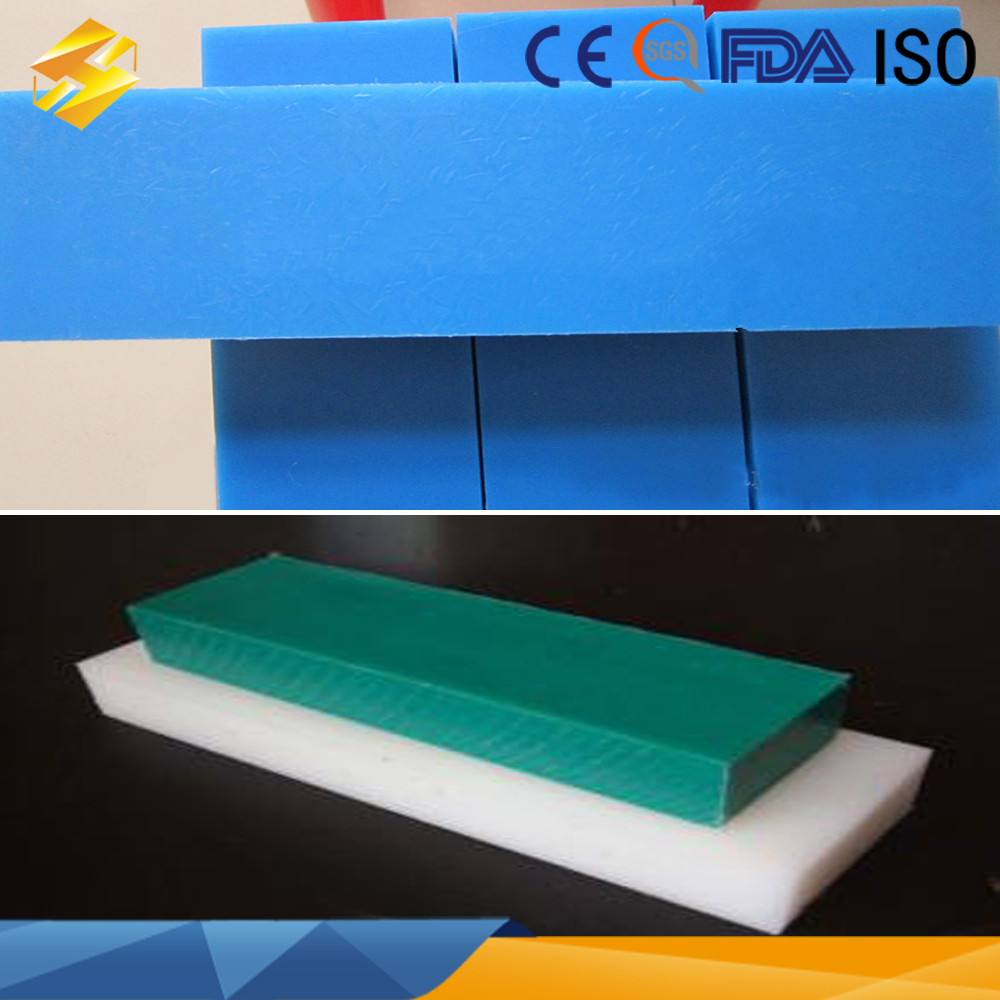 high quality friction virgin material blue uhmwpe sheet