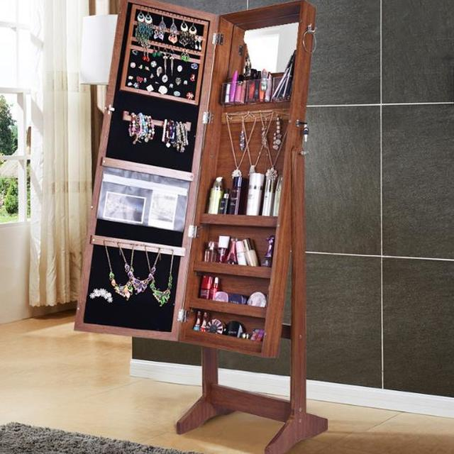 black friday wall jewelry armoire & cheval standing mirror