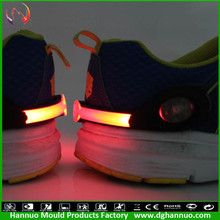 Promotion night running 2015 wholesale led safety shoe clip light for runner (LOGO printing support)
