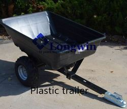 utility garden farm trailer snowmobile