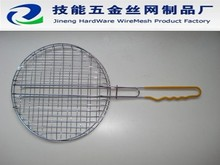 stainless steel 304 or 201 crimped barbecue wire mesh or BBQ wire mesh