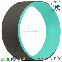 Hot Sale High Quality Colourful TPE Yoga Wheel For Balance Traning
