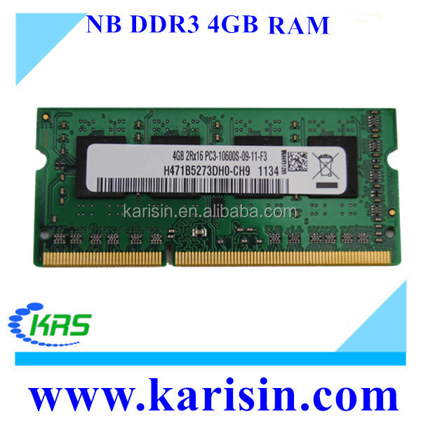 Alibaba hot selling DDR3 4GB 1600MHZ PC3-12800 SO DIMM RAM with ETT original chips