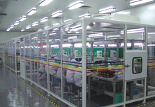 FFU soft wall industrial clean room, movable clean booth