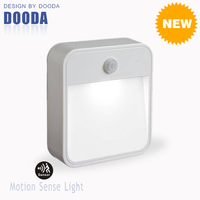 New Stick Anywhere Smart Corridor Security Battery Wall LED Motion Sensor Footlight With Waterproof For Indoor And Outdoor